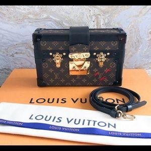 2018 Louis Vuitton Petite Malle Monogram Clutch